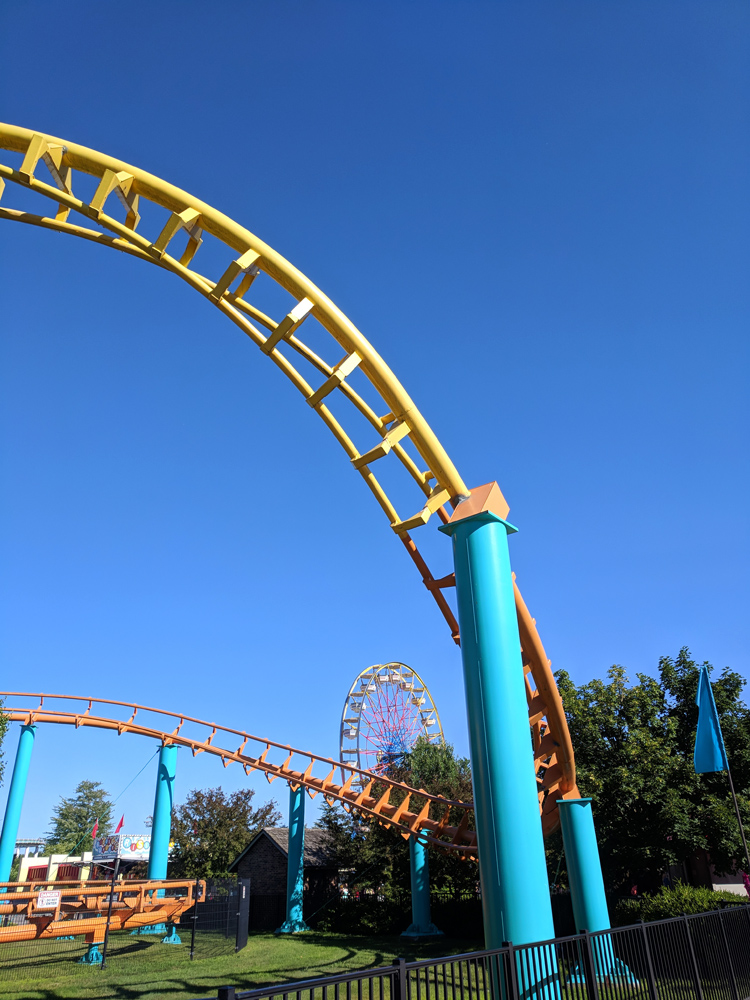 Corkscrew at Michigan's Adventure