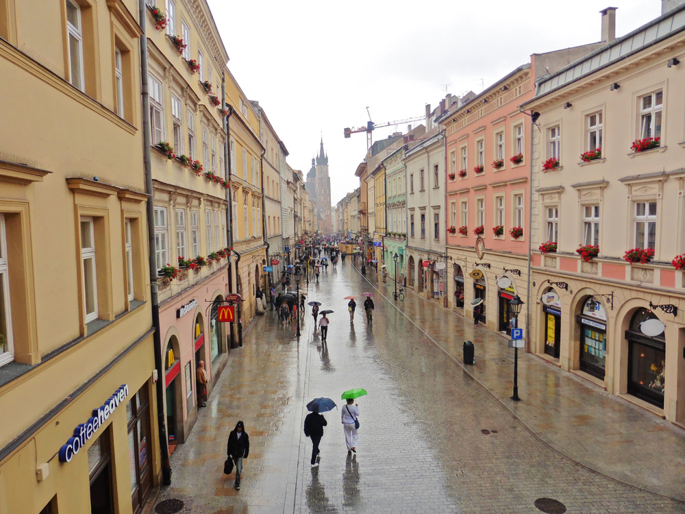 Itinerary for 3 days in Krakow