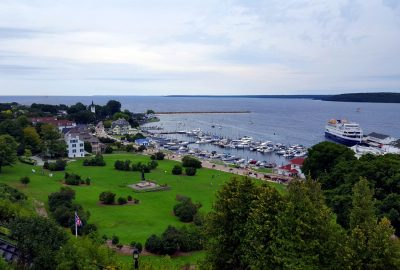 Mackinac Island - summer in Michigan