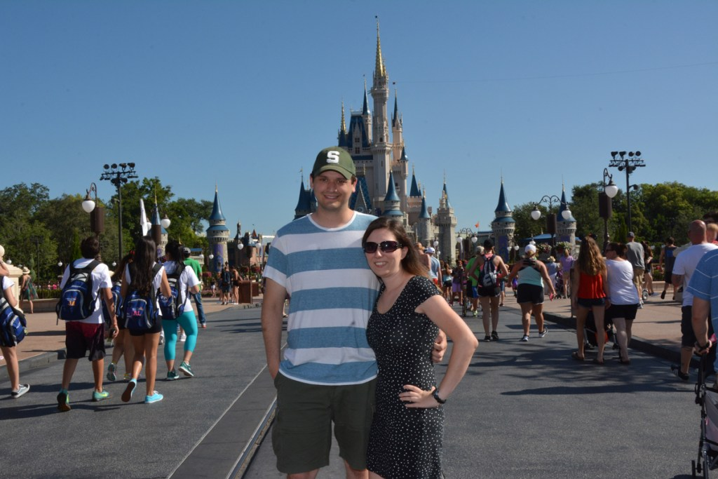 Adults at the Magic Kingdom