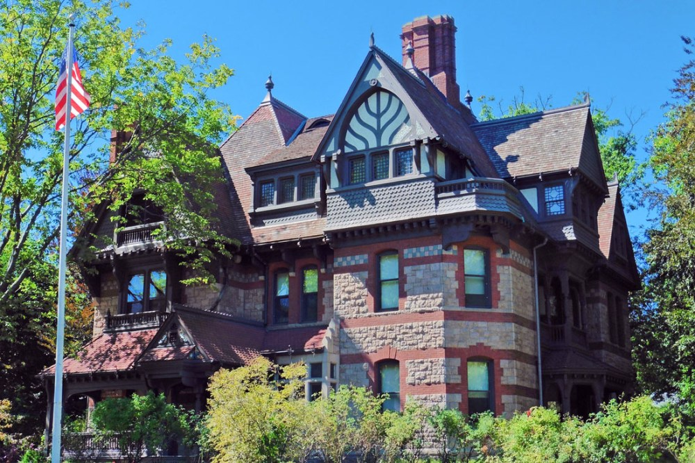 Mark Twain's house - one of the best things to do in Hartford, Connecticut