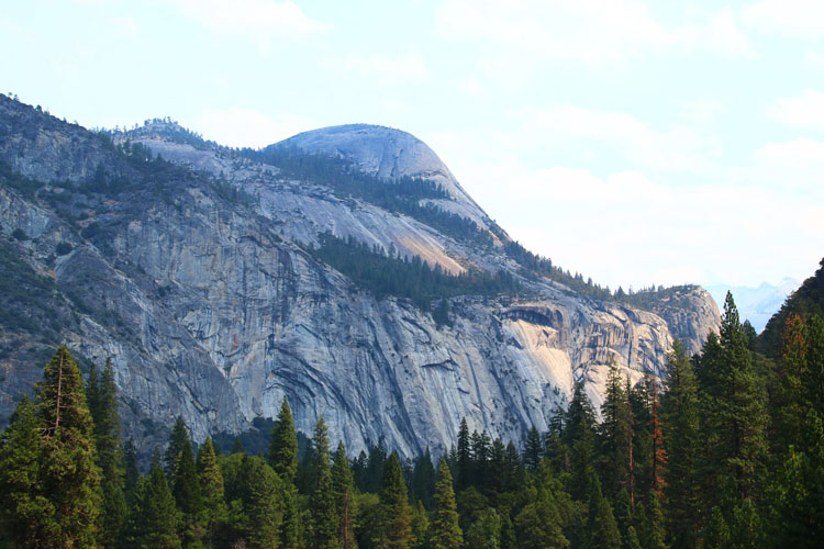 North Dome in Yosemite National Park