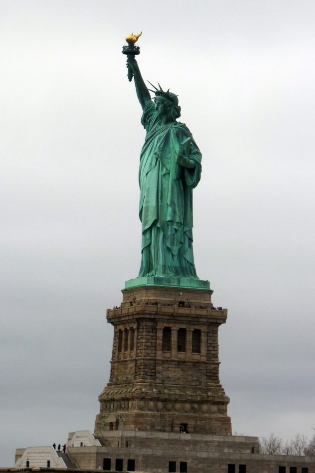 Statue of Liberty - Weekend in NYC itinerary