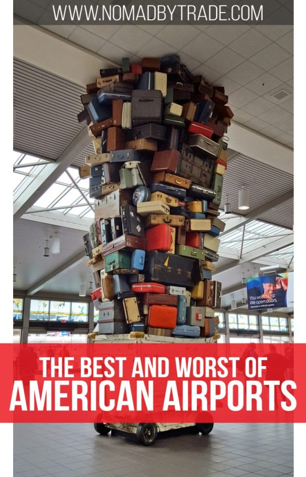 Bloggers and experienced travelers discuss the best and worst qualities of the biggest airports in the United States. Find out which airports have the worst security lines, which airports have the best food options, and which airports have the best amenities. #UnitedStates | #USA | Best airports | Worst airports | Airport reviews | Laguardia | LAX | Chicago O'Hare | Atlanta Airport | New York airports