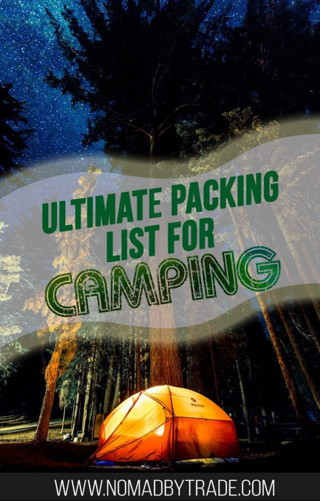 ... Use this camping packing list to make sure you're fully prepared for  your trip ...
