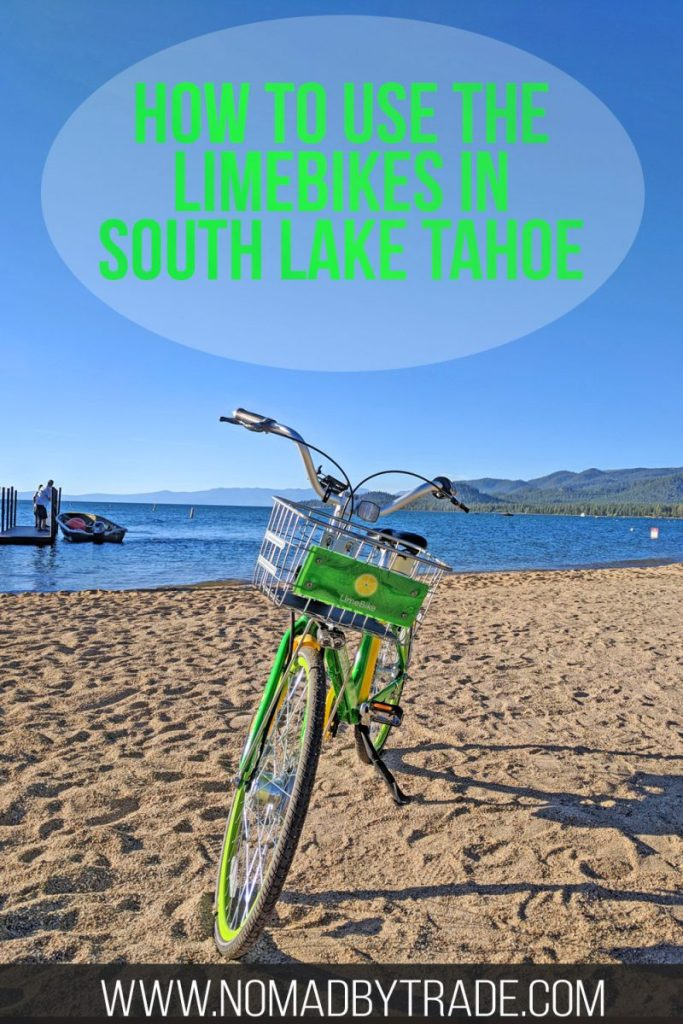 If you're looking for things to do in South Lake Tahoe in the summer, bike rentals in South Lake Tahoe are one of the top activities. Check out this fast, easy, and cheap bike share program in South Lake Tahoe.
