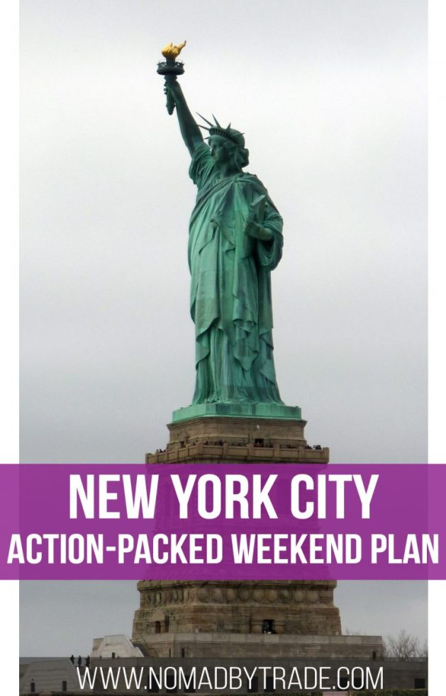 Action packed nyc weekend itinerary nomad by trade for New york city things to do this weekend