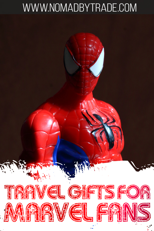 If you're a fan of Spiderman, Captain America, The Avengers, Deadpool, or Guardians of the Galaxy, check out these great travel gifts for Marvel fans. These superhero travel gifts feature great travel gear including travel pillows, backpacks, luggage, TSA-compliant bags and more!