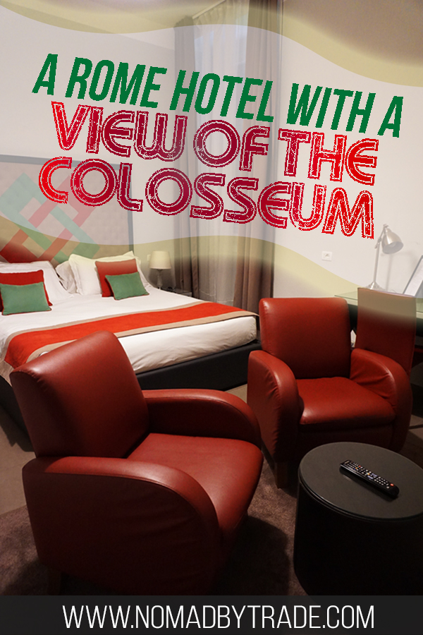 If you're looking for Rome hotels with a view of the Colosseum, the Residence Maximus, a hotel near the Colosseum, is the best place to stay in Rome. This budget-friendly hotel in Rome is located near the Colosseum and lots of public transportation options.