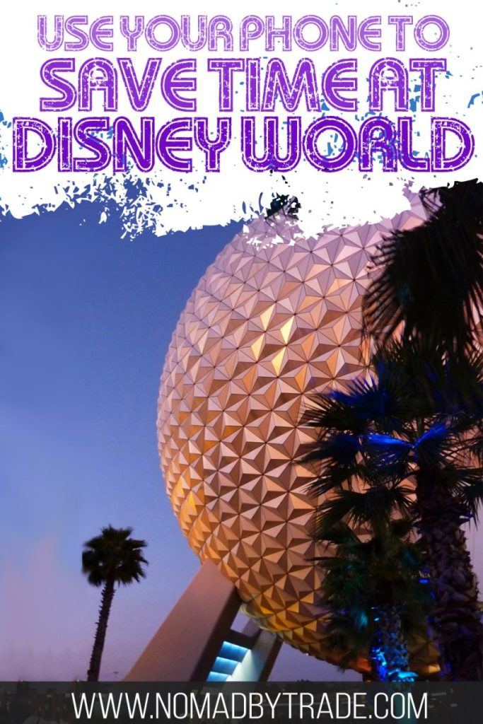 Save time at Disney World using your smartphone to make the most of your Disney vacation. This post includes all the tips you'll need to use the free MyDisneyExperience app to make the most of your Disney vacation. From booking FastPasses and dining to checking into your room to using the new mobile ordering feature, you'll definitely want to take advantage of these time-saving Disney World tips. #DisneyWorld #Disney #Epcot #MagicKingdom #DisneyTips #DisneyVacation #TravelTips #USA