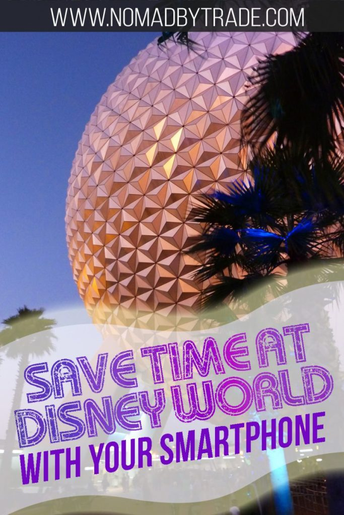 Time is money at Disney World. Use your smartphone to make the most of your trip there. This post includes all the tips you'll need to use the free MyDisneyExperience app to make the most of your Disney vacation. From booking FastPasses and dining to checking into your room to using the new mobile ordering feature, you'll definitely want to take advantage of these time-saving Disney World tips. #DisneyWorld #Disney #Epcot #MagicKingdom #DisneyTips #DisneyVacation #TravelTips #USA