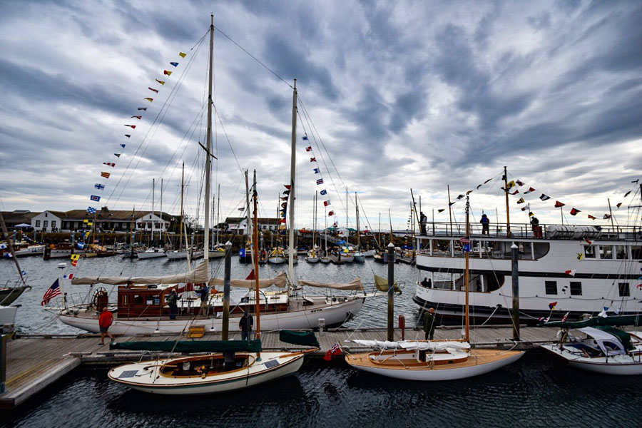 Boats docked in Port Townsend, Washington