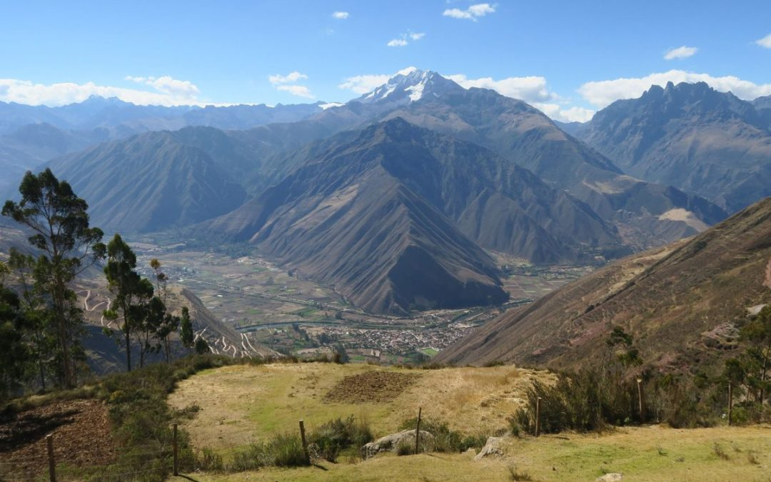 Peru's Sacred Valley seen from a Sacred Valley tour from Cusco to Ollantaytambo