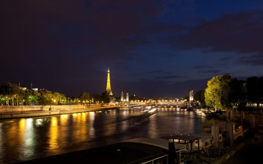 An Evening on the Seine