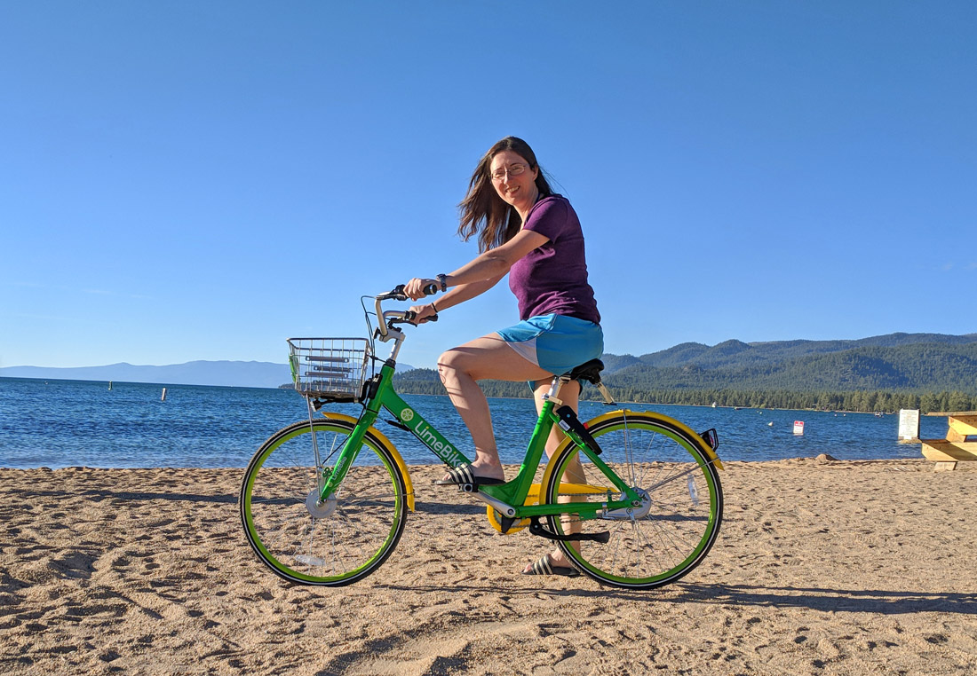 How to Use the LimeBikes in South Lake Tahoe