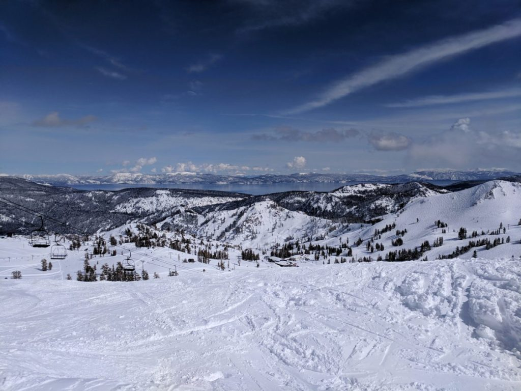 View from the top of Emigrant.