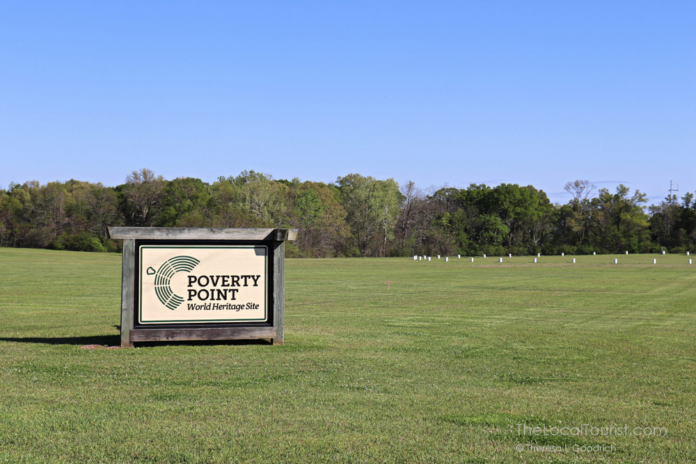 Poverty Point Park, a UNESCO World Heritage Site in Louisiana