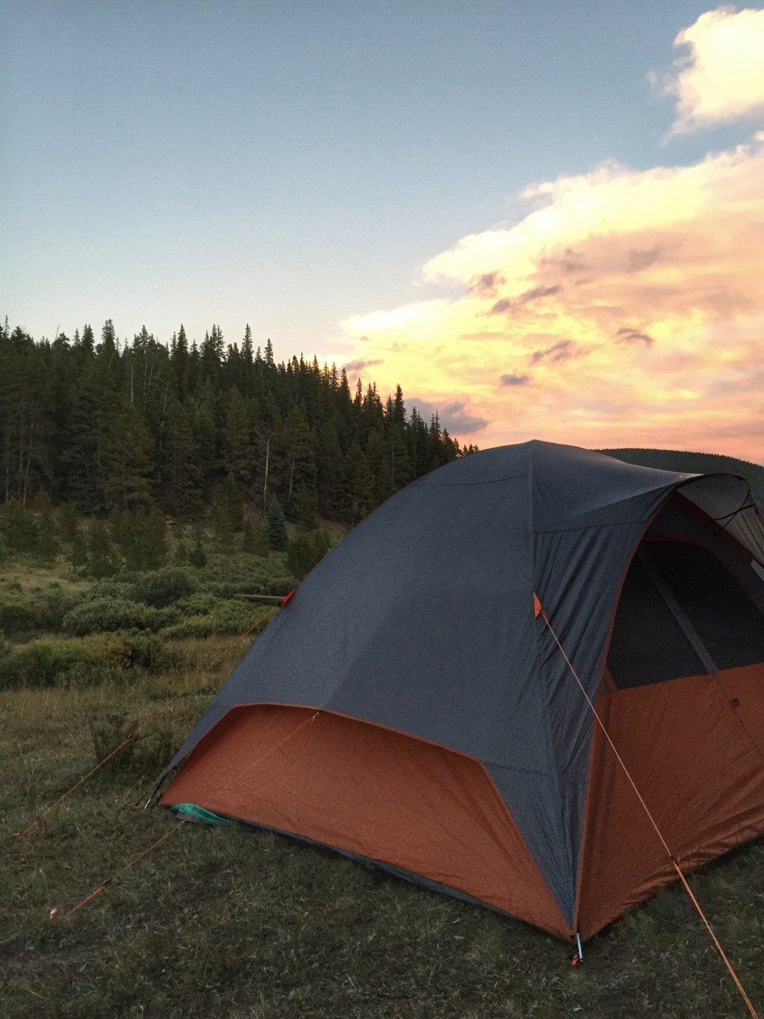 Colorado Camping (how I almost went down in a burning ring of fire)