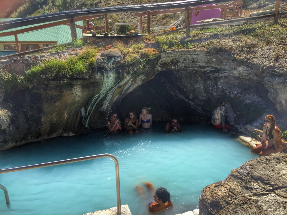 Hot Sulphur Springs - Cave Spring
