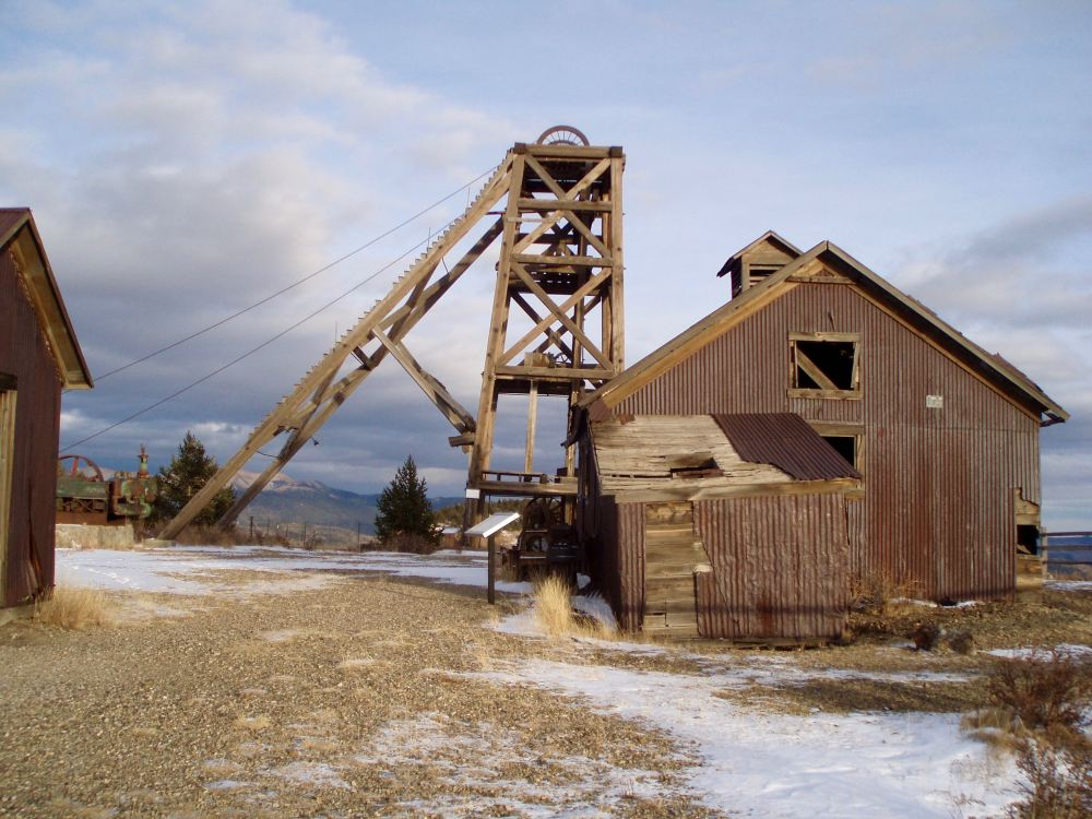 Historic Mine Near Victor on the Gold Belt Byway