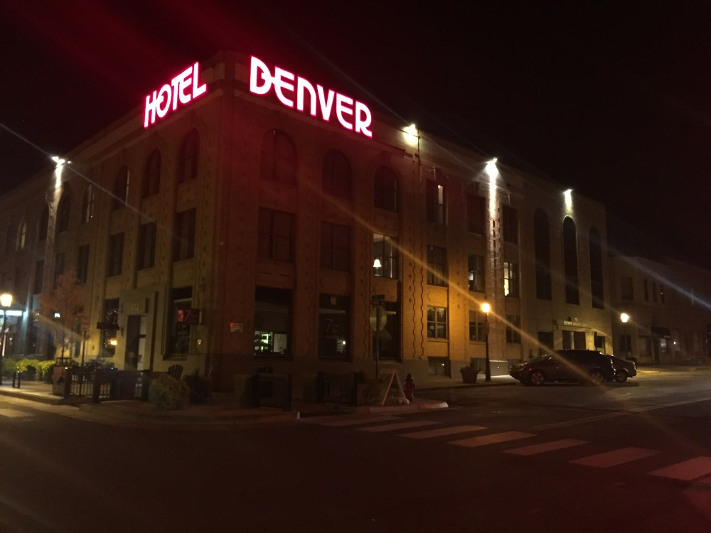 Famous Lights of the Hotel Denver