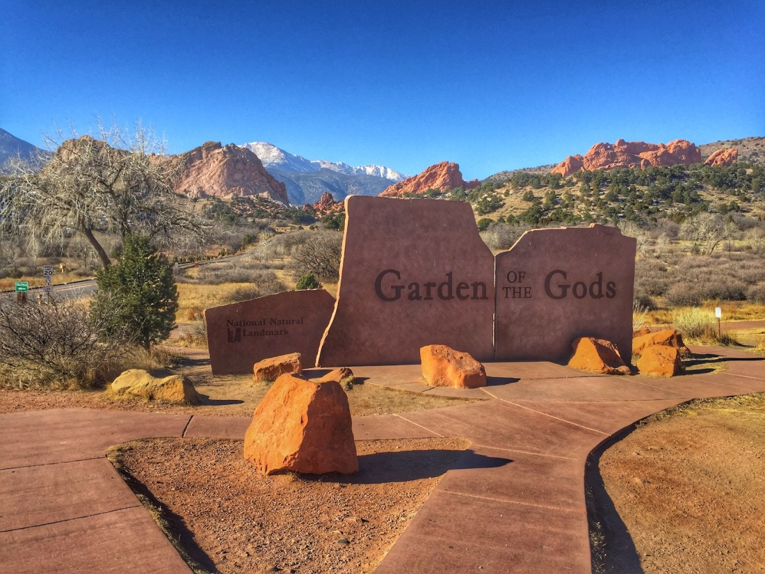 Garden of the Gods Main Entrance