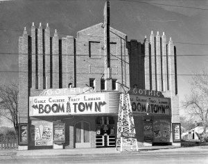 The Gothic Theatre (Public Domain, City of Englewood Public Library)