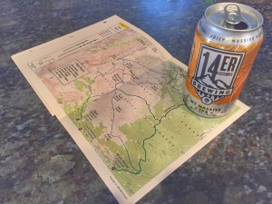 Mt Massive IPA & Trail Map