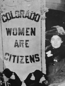 Suffrage Leader Molly Brown