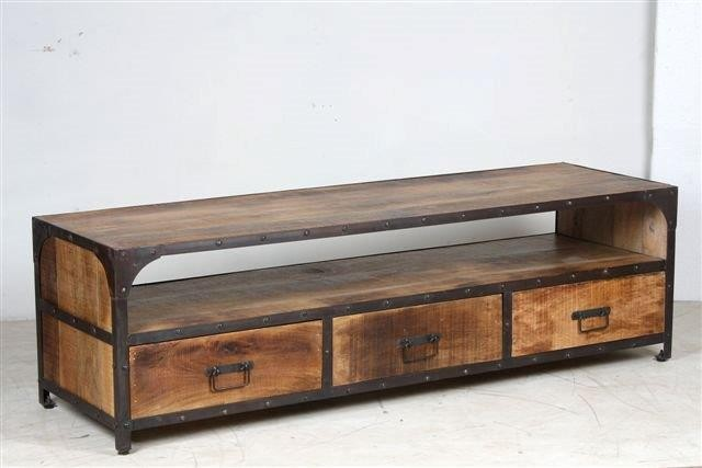 meuble tv 3 tiroirs factory pachtoune