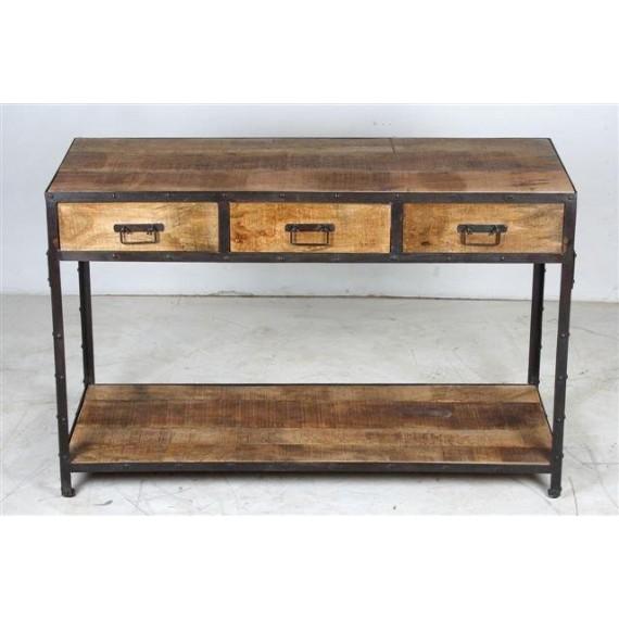 console 3 tiroirs factory pachtoune