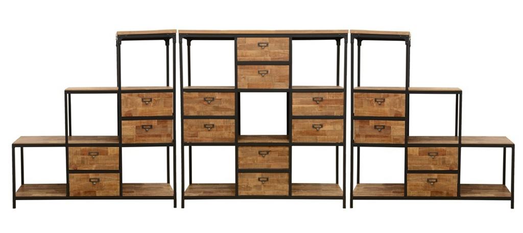 le meuble de separation style industriel