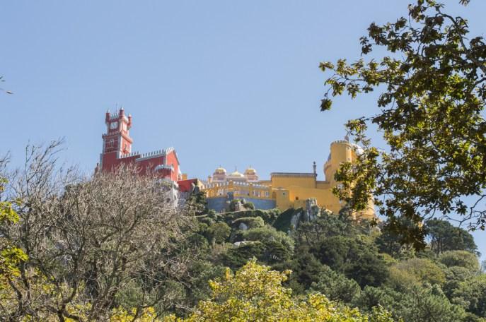Palacio da Pena in Sintra, Portugal.
