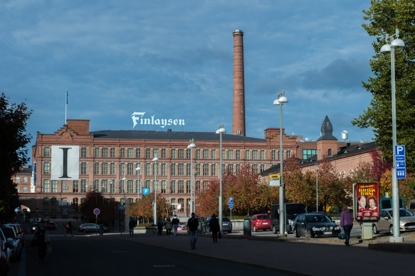 The Finlayson Factory Complex in Tampere.