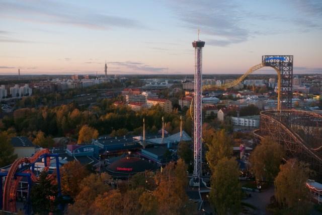 Linnanmäki makes a great destination for all fun lovers in Helsinki (Source: Jumilla/Flickr).