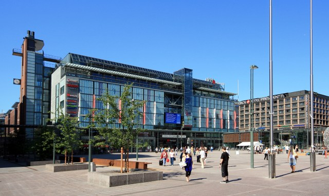Kamppi Centre lies at the heart of the Helsinki Design District (Source: Mahlum/Wikimedia)