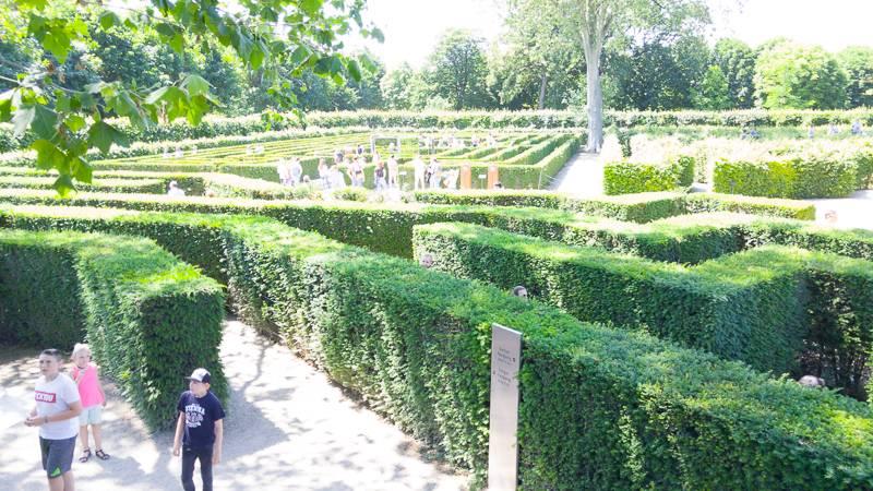 day trip schönbrunn palace maze