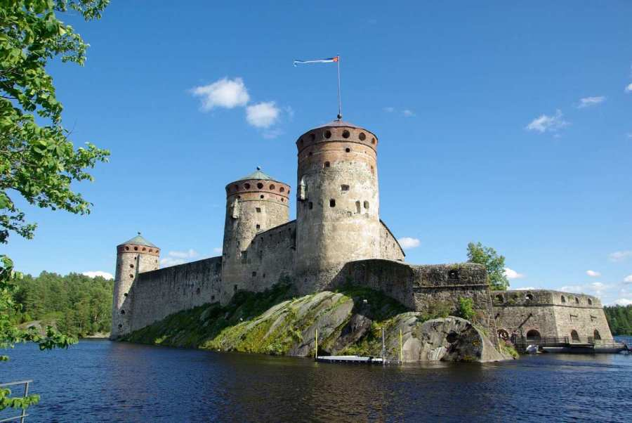 Most Beautiful Places in Finland, Karelia, Savonlinna