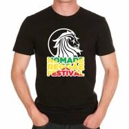 t-shirt nomad reggae-noir