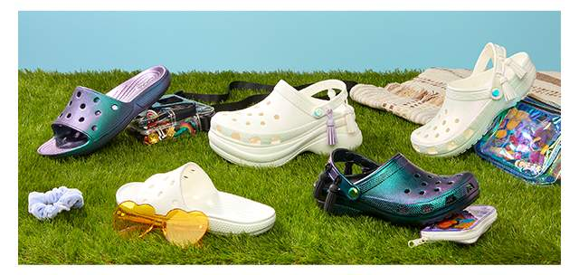 Crocs Disco.At.Home, le confort se look 70's