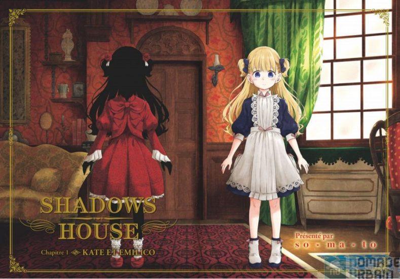 Shadows House Tome 1 & 2, mystères gothiques, majesté graphique