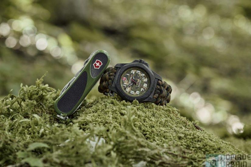 Victorinox I.N.O.X Carbon LE, la montre de survie