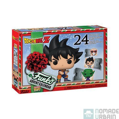 Calendrier de l'Avent Funko Pop Dragon Ball Z, Noël en Saiyan