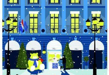 Le Petit Comptoir de Noël du Ritz, chaleur et gourmandise
