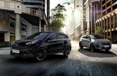 Kia Sportage Black Edition,  le coté obscure de la beauté automobile !