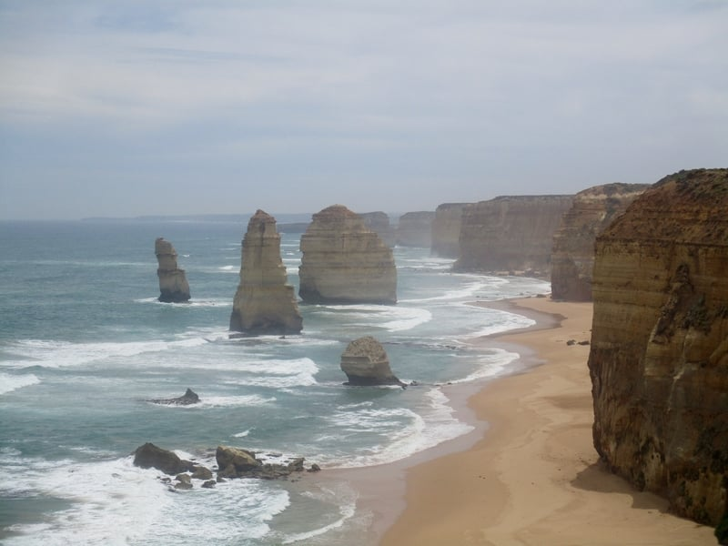 Sights like the Great Ocean Road make Melbourne one of the best first time solo travel destinations