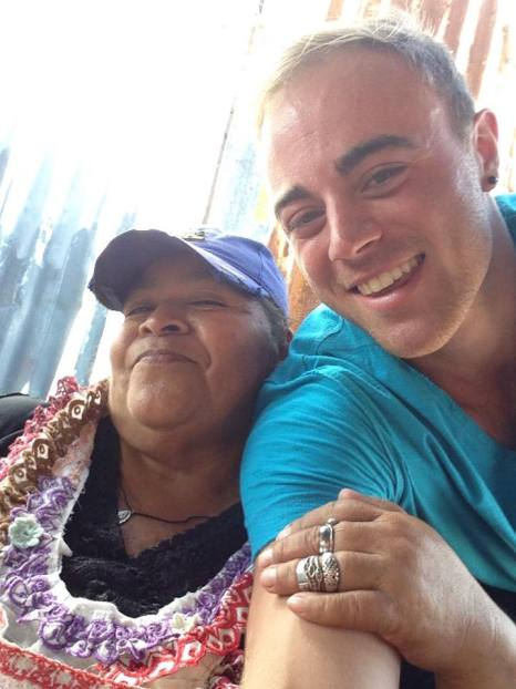 Mi novia. Mi amor. Mi corazon. Managua, Nicaragua.