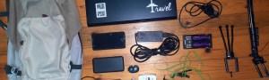 My minimalist digital nomad packing list