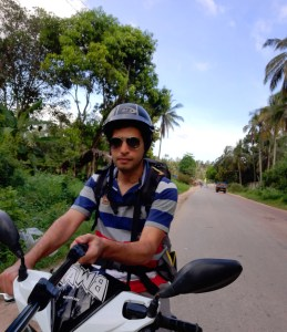 A Digital Nomad's Guide to Zanzibar - On a motorbike while riding from Stone Town to Paje