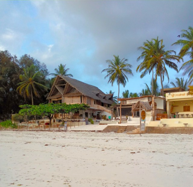 A Digital Nomad's Guide to Zanzibar - Side by side hotels beach front